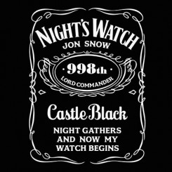 تیشرت Night's Watch Jon Snow