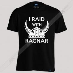 تیشرت پسرانه I Raid With Ragnar