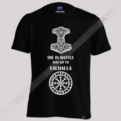 تیشرت پسرانه die In battle Viking