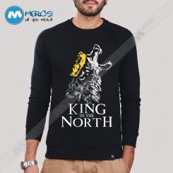 آستین بلند سویشرتی King In The North