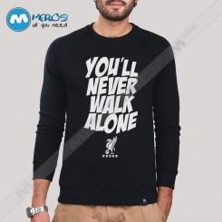 آستین بلند سویشرتی You Never Walk Alone