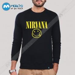آستین بلند سویشرتی Nirvana Smiley