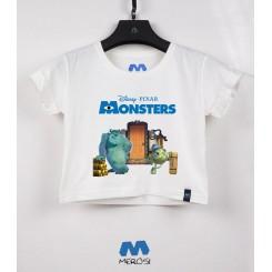 نیم تنه دخترانه Monsters