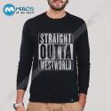 آستین بلند سویشرتی سریال Straight Outta WestWorld