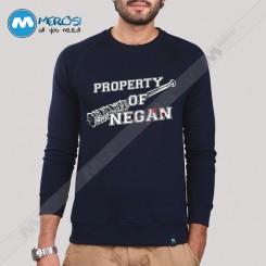 آستین بلند سویشرتی Property Of Negan The Walking Dead