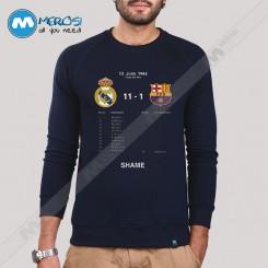 استین بلند سویشرتی Real Madrid Shame