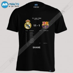 تیشرت طرح Real Madrid Shame