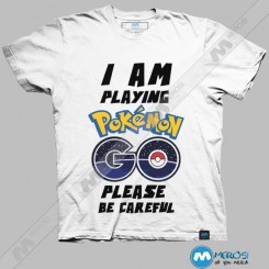 تیشرت I'm Playing Pokemongo Be Careful