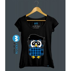 تیشرت دخترانه Owl Hipster