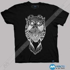 تیشرت طرح Modern Owl