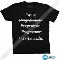 تیشرت طرح I'm Programmer I write Code