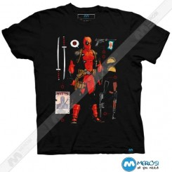 تیشرت طرح Deadpool Accessories