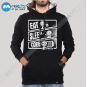 سویشرت Eat Sleep code