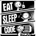 سویشرت Eat Sleep code
