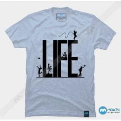 تیشرت طرح Life one
