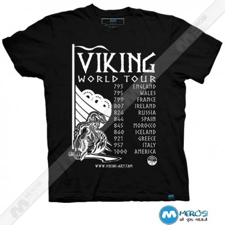 تیشرت Viking World Tour