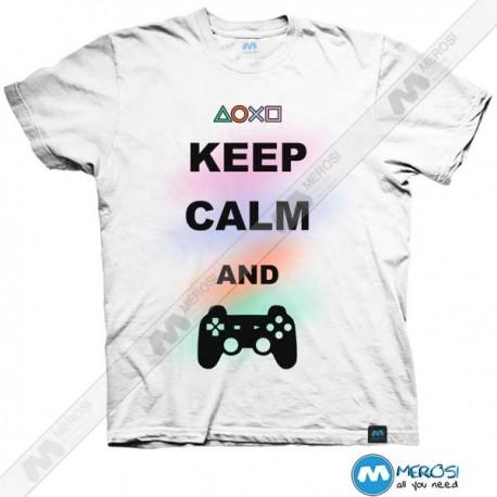 تیشرت Keep Calm and PLAY