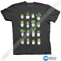 تیشرت طرح Cactus
