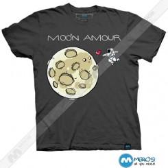 تیشرت طرح Moon Amour