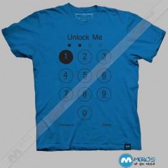 تیشرت طرح Unlock Me