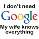 تیشرت My Wife Knows Better Than Google