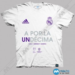 تیشرت A Por La UnDecima , Real Madrid