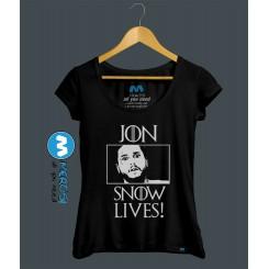 تیشرت دخترانه Jon Snow Is Alive!