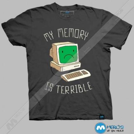 تیشرت طرح My Memory Is Terrible
