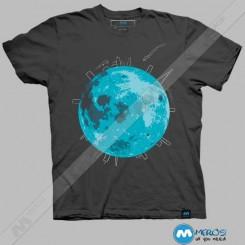 تیشرت طرح Life On the Moon