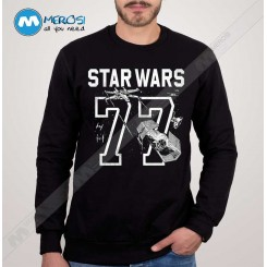 آستین بلند سویشرتی Star Wars 77 Athletic Print