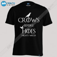 تیشرت Crows Before Hoes