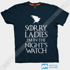 تیشرت Sorry Ladies Game Of Thrones Serie