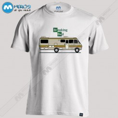 تیشرت طرح Breaking Bad RV BUS