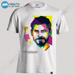 تیشرت طرح Saint Iker Casillas Face