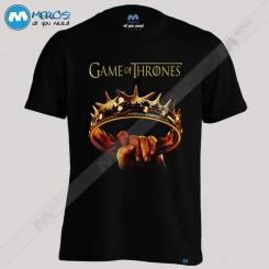 تیشرت طرح game of thrones ring