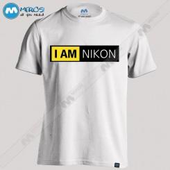تیشرت طرح I Am Nikon