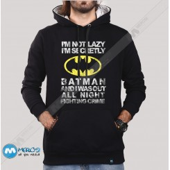 سویشرت Im Not Lazy Batman
