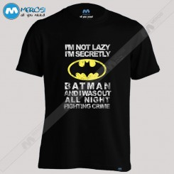 تیشرت Im Not Lazy Batman