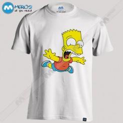 تیشرت طرح Bart simpson