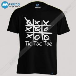 تیشرت طرح Tic Tac Toe