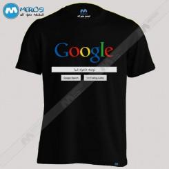 تیشرت طرح Google با عبارت جستجوی دلخواه شما