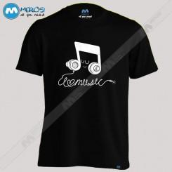 تیشرت I Love Music (H)
