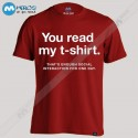 تیشرت طرح ua read my t-shirt