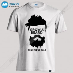 تیشرت Grow a Beard When We'll Talk