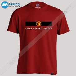 تیشرت طرح Manchester UTD Line