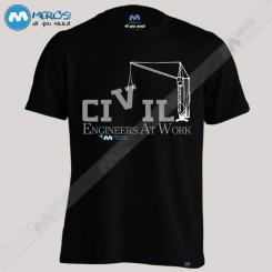 تیشرت طرح Civil Engineers
