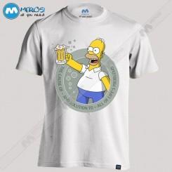 تیشرت طرح Simpson Beer