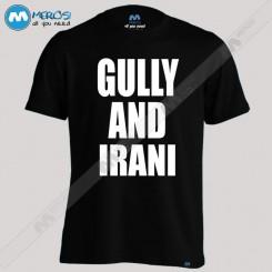 تیشرت طرح GULLY AND IRANI