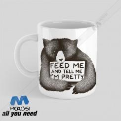 ماگ طرح Feed Me