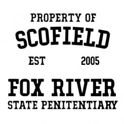 تیشرت Property OF Scofiled Prison Break